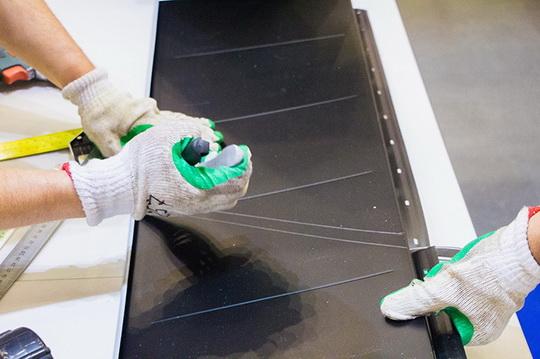 Как прошел мастер-класс по монтажу модульной металлочерепицы Ruukki Hyygge. Фото
