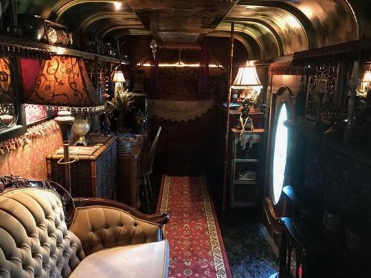 Курьезы: как цыгане превратили кибитку в роскошные апартаменты. Фото