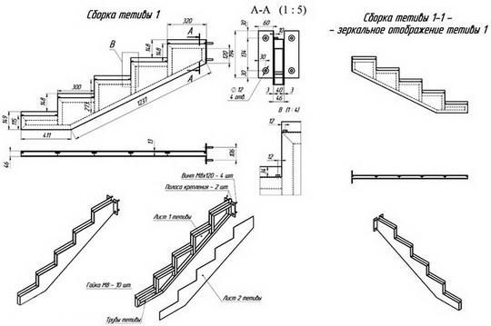 Как построить своими руками лестницу со стеклянными ступенями
