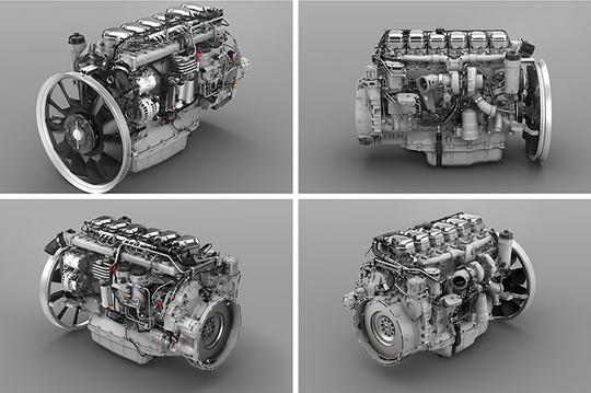Scania DC13 166:13-литровый двигатель в 540 л.с.