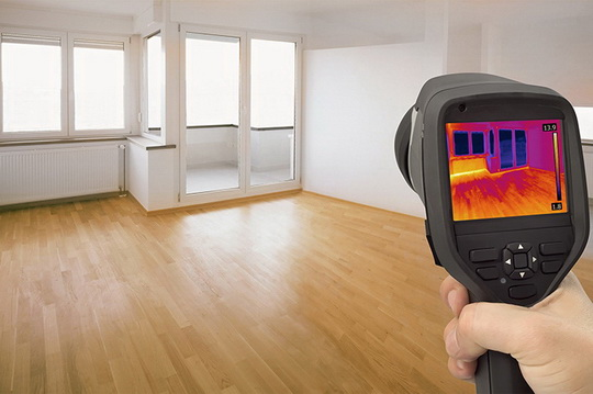 Как обследовать дом тепловизором при покупке или контроле строительства