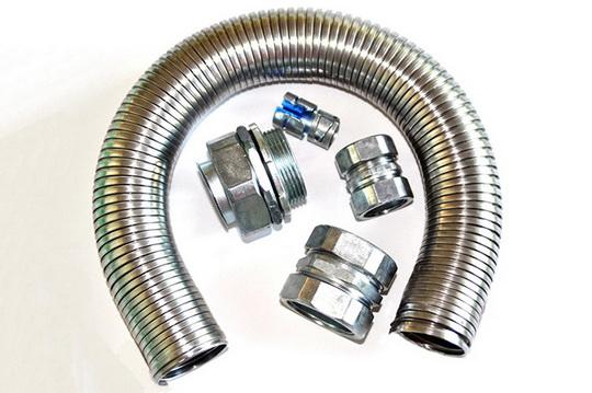 Как выбрать металлорукав для электрического кабеля