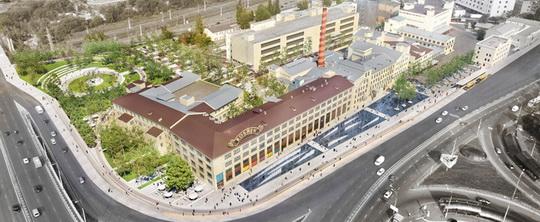 Французские и украинские архитекторы разработали дизайн-проект офиса Roshen