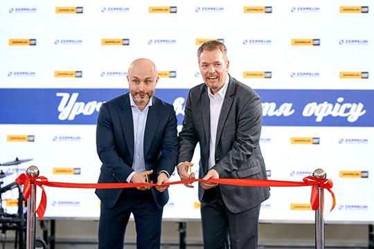 Открылось новое представительство компании «Цеппелин Украина»