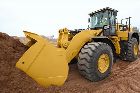 Конструктивные особенности колесного погрузчика CAT® 980L