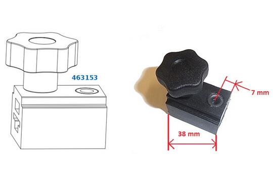 Инструкция для шаблона 463153 для обрезки фурнитуры МАСО Multi Matic