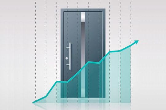 В мире наблюдается стремительный рост рынка алюминиевых оконно-дверных конструкций