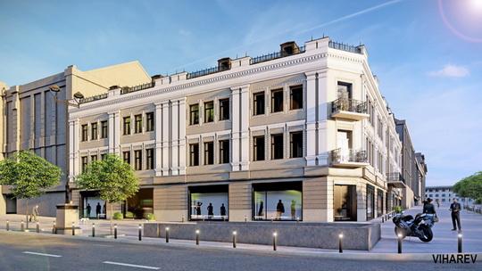 Как будет выглядеть Центральный Гастроном после реставрации