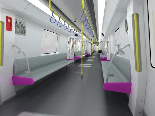 Как будут выглядеть китайские вагоны Харьковского метрополитена. Фото
