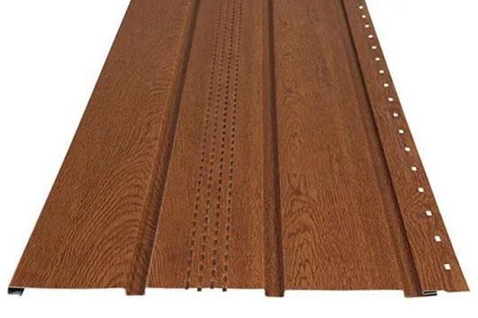Софит для подшивки стальной крыши Soffit Metal Padding от компании Руукки Украина