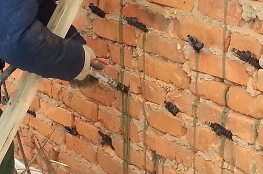 Инъекция цементного раствора в кирпичную кладку владимирский бетон