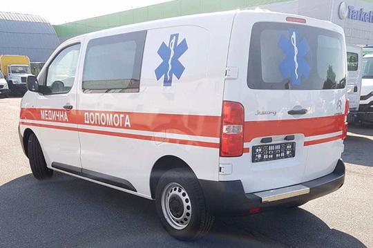 Тернопольские медики получили новый автомобиль скорой помощи на базе Citroen