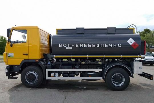 10,5-кубовый автотопливозаправщик на базе МАЗ-5340