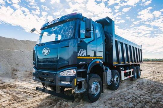 Акция на грузовики FAW
