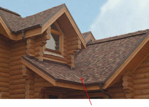 Ендова, или разжелобок – пересечение скатов крыши, образующих внутренние углы.