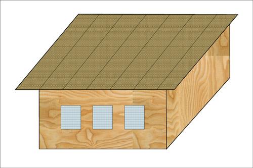 Классификация крыш. Односкатные крыши