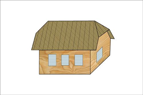 Классификация крыш. Полувалоьмовые крыши