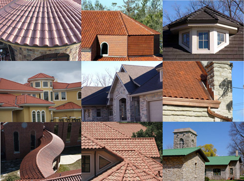 Ребро крыши – это пересечение скатов, которое образует выступающие углы