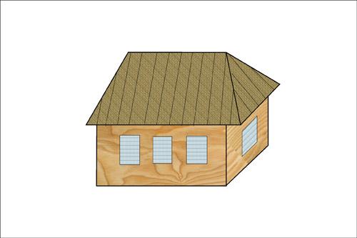 Классификация крыш. Вальмовые крыши