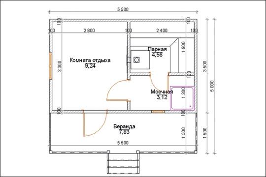 Строительство кирпичной бани: как начать работы и залить фундамент