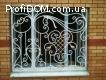 Кованые решетки, козырьки, ворота, камины, беседки Киев