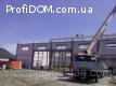 Монтаж металоконструкцій. Будівництво ангарів.