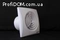 Вентс Квайт 100 – очень тихий  вентилятор
