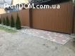 Забор из профнастила с установкой под ключ в Запорожье