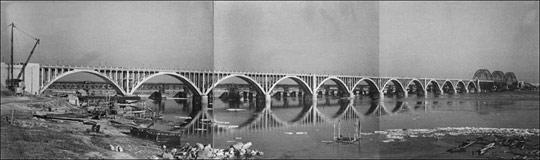 Как строился Дарницкий железнодорожный мост