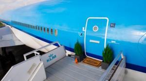 KLM превращает авиалайнер в апартаменты с двумя спальнями