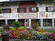 Расписные дома Баварии
