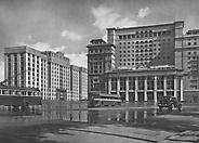 Москва. Новоманежная площадь