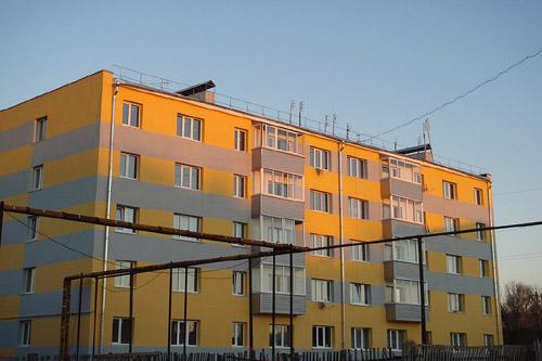 Санация зданий поможет сэкономить бюджетные средства