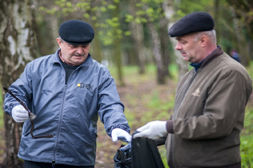 Энергетики присоединились ко всеукраинской уборке