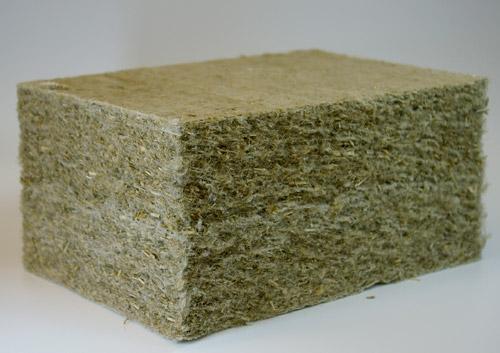 В США дома строят из бумаги и конопли