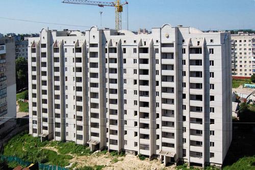 В Житомире построили дом для 43 молодых семей