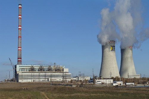 ДТЭК собирается ремонтировать ТЭС на оккупированной территории