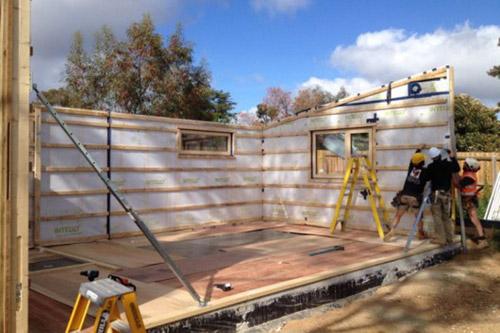 Как построить пассивный дом за 10 дней