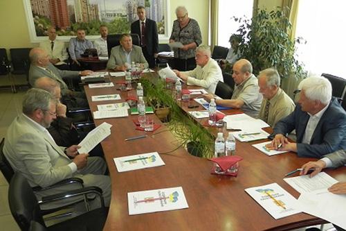 Состоялось очередное заседание Президиума Строительной палаты Украины