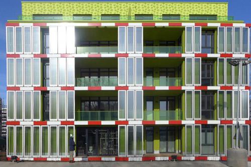 Изобретен биологический фасад для зданий