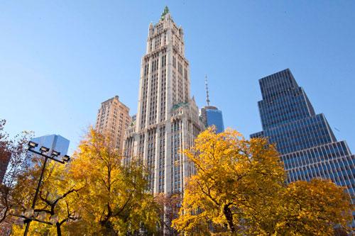Старейший небоскреб США украшен кружевной готикой