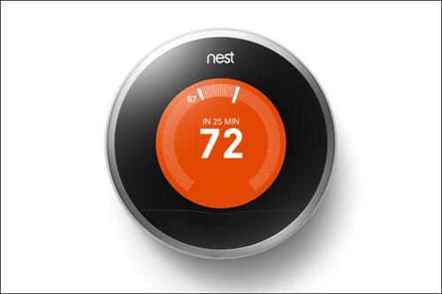 Изобретен «умный» термостат от Google, который экономит электроэнергию