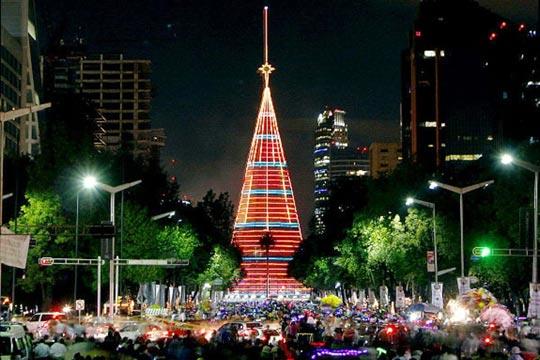Самая большая елка в мире