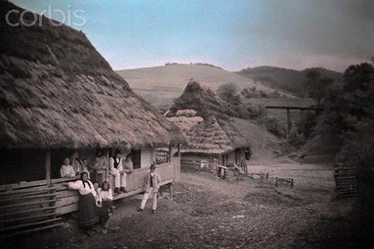 Как выглядело наше Закарпатье 90 лет назад. Цветные фотографии