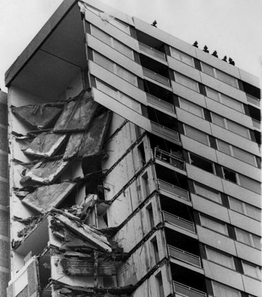 Крупнейшие строительные катастрофы в мире