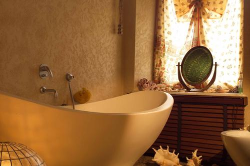 5 нестандартных приемов оформления ванной комнаты