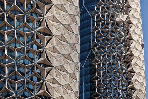 Новый архитектурный стиль – динамические фасады. Башни Аль-Бахар