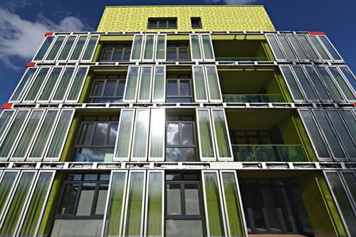 Новый архитектурный стиль – динамические фасады. Здание BIQ House