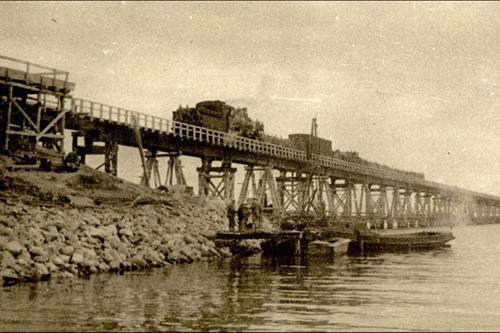 История: первый Керченский мост рухнул в 1944 году
