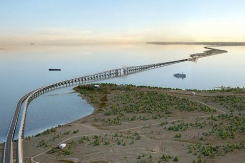 История: первый Керченский мост рухнул в 1945 году